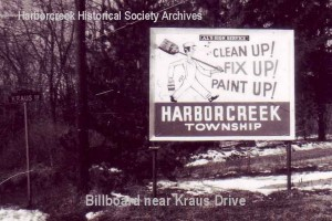 Township billboard